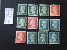 Serie  Pasteur  Neuf ** - 1922-26 Pasteur