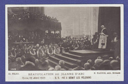 PIE 10 Béatification De Jeanne D Arc - TTB état - 995 - Popes
