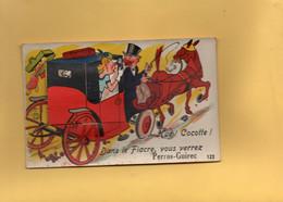 H1103 - Carte à Systèmes - Dans Le Fiacre, Vous Verrez PERROS GUIREC - D22 - Móviles (animadas)