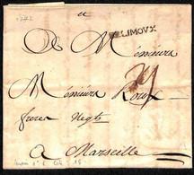 DE LIMOUX PRECURSEUR SUR LAC 1772 - LENAIN N°6 - 1801-1848: Precursori XIX