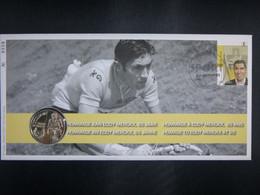 """BELG.2010 4043 Numisletter TB, Muntbrief : """" Eddy Merckx """" - 2001-10"""