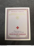 ⭐ Carnet CROIX-ROUGE 1958, Excellent État Sans Charnières Saint Vincent De Paul Henry Dunant ⭐ - Red Cross