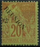 Reunion (1891) N 29 * (charniere) - Ongebruikt