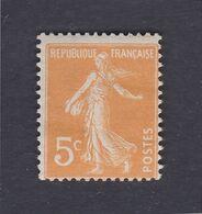 TIMBRE FRANCE N° 158 NEUF ** - 1906-38 Semeuse Camée
