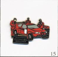 Pin's Automobile - Sport Auto / Assistance Citroën Sport Version Chromée. Estampillé Starpin's 93. Zamac. T790-15 - Citroën