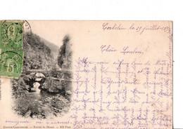 GRANDE CHARTREUSE. - Entrée Du Désert. - ND.Phot.  Ecrite En 1899. TRES BON ETAT. Voir SCANS Recto-verso - Other Municipalities