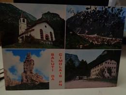 Cartolina  Saluti Da Cimolais Prov Pordenone Vedutine, Chiesetta Alpina, Campanile Val Montanaia, Colonia S.Salvatore - Pordenone