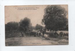 CPA  - Loisy Près Mortefontaine    -(Oise) - L'Entrée Du Pays Et La Mare - Autres Communes
