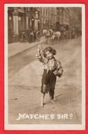 CHILDREN  JOLIE ENFANTS       FUMEUSE     MATCH GIRL   MATCHES SIR ?   RP   Pu 1904 - Children And Family Groups