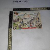 FB5935 TARVISIO 1986 TIMBRO TARGHETTA INAUGURAZIONE AUTOSTRADA UDINE TARVISIO COCCAU ALPE ADRIA - 1981-90: Marcophilia