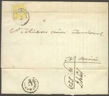 """1859 2kr I Típus Regiszterhajtással Nyomtatványon """"DEBRECZIN"""" - """"HAJDU DOROG"""" - H.Nánás (190.000) - Non Classificati"""
