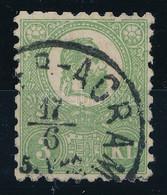 "O 1871 Kőnyomat 3kr Jó Minőségű Bélyeg ""(ZAGRE)B-AGRAM"" (140.000) Sign: Pfenninger - Non Classificati"