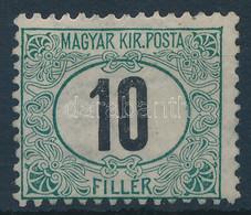 """** 1905 Zöldportó """"A"""" 10f 2. Vízjelállással (140.000++) - Non Classificati"""