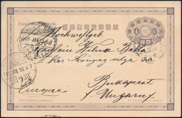 1901 Japán Képeslap A Bokszerlázadás Idejéből A ZENTA Hajóról Budapestre Küldve - Non Classificati