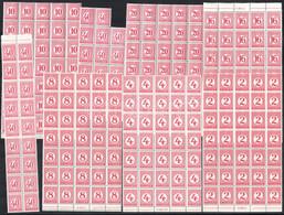 ** 1929 Pengő-fillér Portó (II.) 35 Sor összefüggésekben (105.000) - Non Classificati
