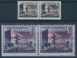 ** 1956 Sopron Épületek 5Ft Pár A Felülnyomás Eltolódásával MB Garanciajelzéssel (72.000) - Non Classificati