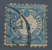 O 1868 Hírlapilleték 1kr Magánfogazással, Kellően Megviselt állapotú Ahhoz, Hogy Korabeli Legyen, Igazi érdekesség! - Non Classificati