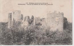 CPA Herbignac - Ruines Du Château De Ranrouët (côté Sud) - Herbignac