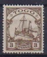 GERMANIA REICH COLONIA TOGO 1909-14  SERIE ORDINARIA FILAGRANA LOSANGHE YVERT. 19A   MLH VF - Kolonie: Togo