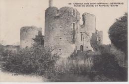 CPA Herbignac - Ruines Du Château De Ranrouët - L'entrée - Herbignac