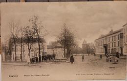 Enghien - Place Du Vieux Marché 1906 (animée) - Enghien - Edingen