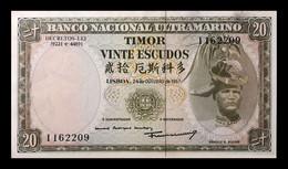 # # # Banknote Timor 20 Escudos UNC # # # - Timor