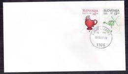 Eslovenia FDC 1997 - Slovenië