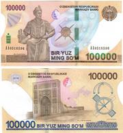 Uzbekistan 100000 Som 2019 UNC - Uzbekistan