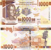 Guinea 1000 Francs 2017 UNC - Guinea