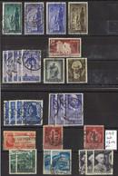 1949 ITALIA Selezione Di Usati € 20 (828) - 1946-60: Used
