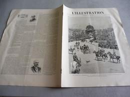 L'ILLUSTRATION 4 JUIN 1892-  FÊTES DE COPENHAGUE- CYCLONE ILE MAURICE- TRAIN PRESIDENTIEL- ELECTIONS GRECE - 1850 - 1899
