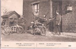 CPA - L'Armée Anglaise Dans Le Pas-de-Cais - Oorlog 1914-18