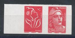 Autoadhésif  96** Paire Issue Du Carnet Marianne De Gandon & Lamouche - Adhesive Stamps