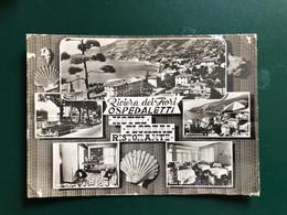 RIVIERA DEI FIORI OSPEDALETTI ( IMPERIA ) HOTEL FLOREAL RISTORANTE 1961 - Imperia