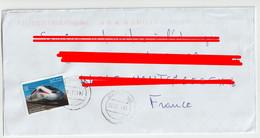 4099 Lettre MOROCCO MAROC Train TGV Rail Train à Grande Vitesse AL BORAQ 2020 - Marokko (1956-...)