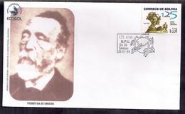 Bolivia FDC Heinrich Von Stehan 1999 - Bolivia