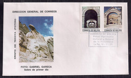 Bolivia FDC Cristo De Tecoya 1989 - Bolivia
