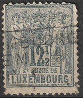 Luxembourg 1882 N° 51 Allégorie 12 1/2 Centimes  Second Choix Voir Scan (H4) - 1882 Allegorie
