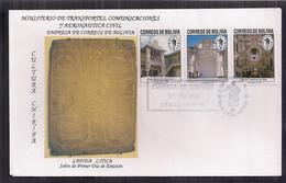 Bolivia FDC Cultura Chiripa 1991 - Bolivia