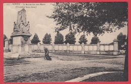 CPA-76-ROUEN- Cimetière Saint-Sever - Monument Aux Morts _La Cigogne 557 -  * 2 Scans - Rouen