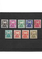 1444 LOT De 9 Timbres Taxe Type Gerbes Neuf * - 1859-1955 Nuovi