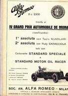 (pagine-pages)PUBBLICITA' ALFA ROMEO  Le Vied'italia1932/07. - Other