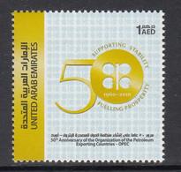2010 United Arab Emirates OPEC Oil Petroleum   Complete Set Of 1 MNH - Emirats Arabes Unis (Général)