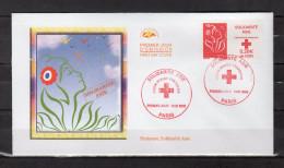 """"""" CROIX-ROUGE / SOLIDARITE ASIE / MARIANNE DE LAMOUCHE """" Sur: Enveloppe 1er Jour De 2006. N° YT 3745 En Parf état. FDC - 2000-2009"""