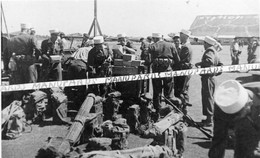 VIET-NAM / 2 PHOTOS / 1951 / 13e DEMI BRIGADE DE LA LEGION ETRANGERE / SAIGON / AEROPORT / VIETNAM / INDOCHINE / DBLE - Guerra, Militari