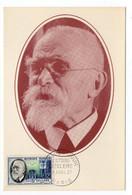 Carte Maximum 1957 - Docteur Antoine BECLERE Fondateur De La Radiologie - YT 1096 - Paris - 1950-59