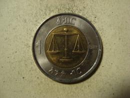 MONNAIE ETHIOPIE 1 BIRR 2002 - Ethiopia