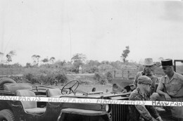 VIET-NAM / PHOTO / 1948-1951 / 13e DEMI BRIGADE LEGION ETRANGERE / DONG DA - HANOI / JEEP / VIETNAM / INDOCHINE / DBLE - Guerra, Militari