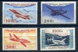 B - France PA Série N° 30 à 33** LUXE Année 1954 (cote400) - 1927-1959 Mint/hinged