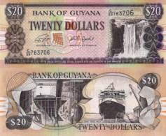 GUYANA, 20 Dollars, 2018, PNEW (Not Listed In Catalog), UNC - Guyana